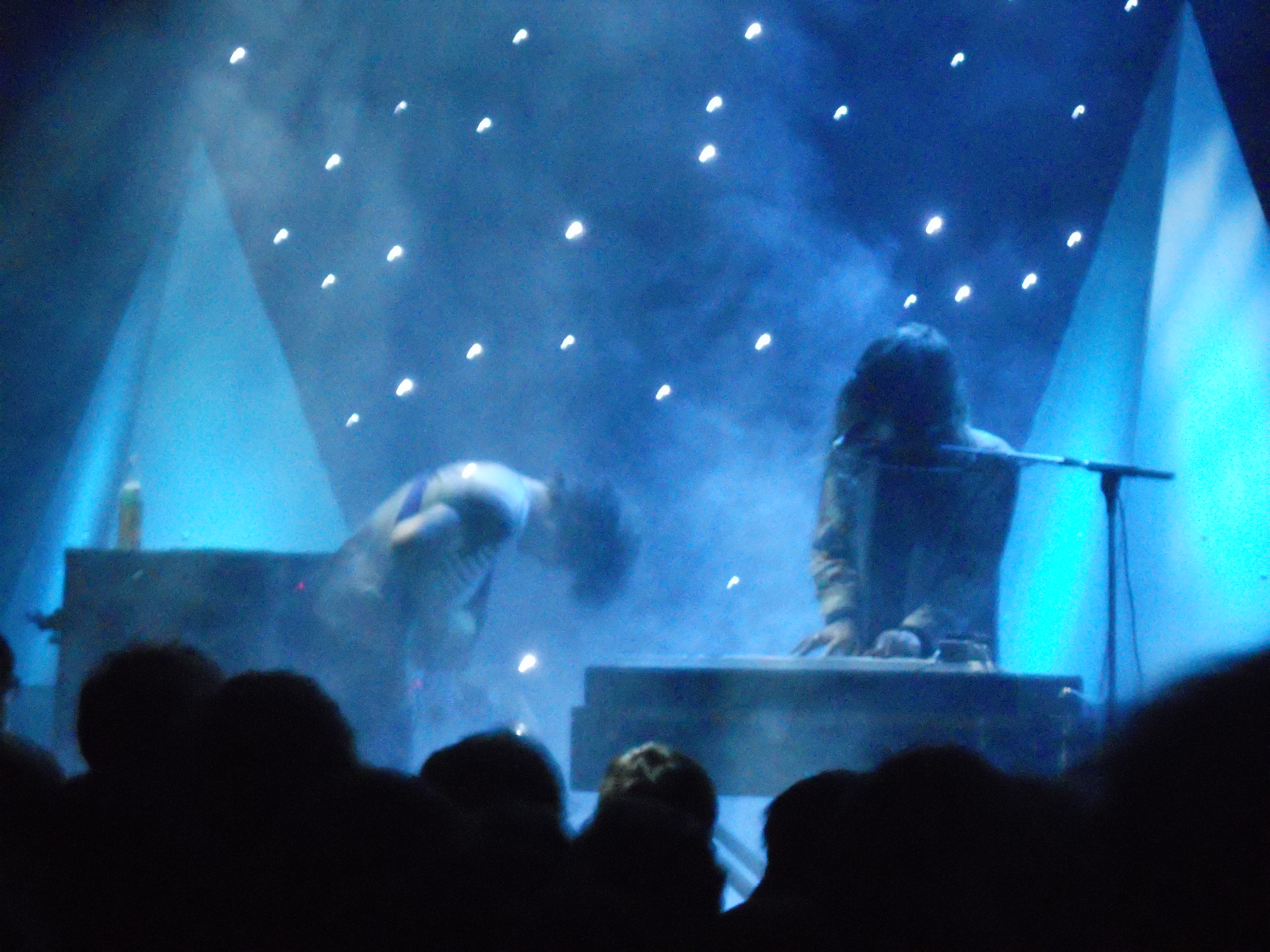 Beach House Papercuts not really at 9 Club